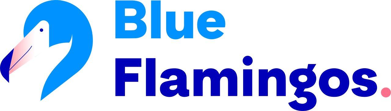 Logo Blue Flamingos